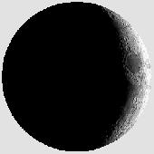 Лунен календар, фаза на луната: Млада луна