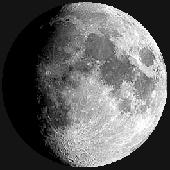 Лунен календар, фаза на луната: Нарастваща луна
