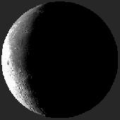 Лунен календар, фаза на луната: Стара луна